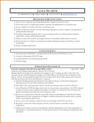 executive assistant resume skills resume reference 7 executive assistant resume skills