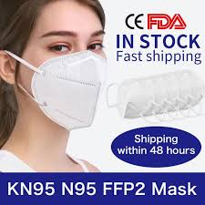 <b>10Pcs KN95 N95 Face</b> Mask Antibacterial Respiratory Masks Anti ...
