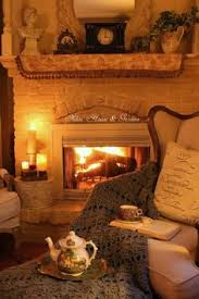 House, Cozy Fireplace,