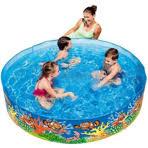 Каркасный <b>детский бассейн Bestway</b> круглый 183x38 см, артикул ...