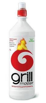 <b>Жидкость для розжига Grill</b> Master 1лит (1уп/15шт) - Кемпинговая ...