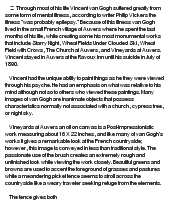 visual analysis ofvincent van gogh    s vineyards at auversessay on visual analysis ofvincent van gogh    s vineyards at auvers