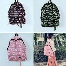 BLACKPINK TWICE <b>GOT7</b> Students School <b>Backpack</b> Shoulder <b>Bag</b> ...