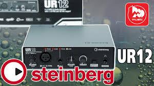 USB аудиокарта <b>STEINBERG UR12</b> ( USB <b>audio interface</b> - best for ...
