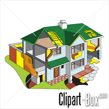 clipart house diagram   royalty free vector designclipart house diagram