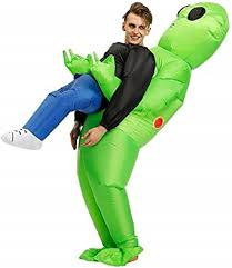 MH Zone Inflatable Alien Costume for Adult Funny ... - Amazon.com