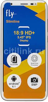 Купить Смартфон <b>FLY Slimline</b> 8Gb, шампань в интернет ...