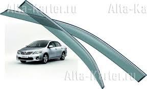 <b>Дефлекторы Noble</b> для <b>окон</b> Toyota Corolla Е150 2008-2011 ...