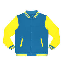 <b>Бомбер Garment</b> тёмно-синий/жёлтый XL хлопок, цвет темно ...