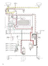 thesamba com type 1 wiring diagrams 1954 diagram