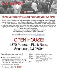 johnson security bureau inc your security is our business open house 12 2015