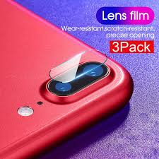 <b>3PCS Tempered Glass</b> Camera Lens For iPhone SE XR Xs 11 Pro ...