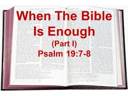 Image result for psalm 19:9, 11