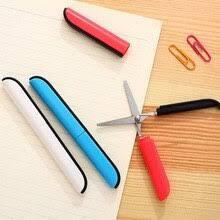 Креативные школьные Портативные Ручные <b>Ножницы</b> ярких ...