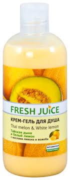 Купить Крем-<b>гель для душа</b> Fresh Juice <b>Thai</b> melon and White ...