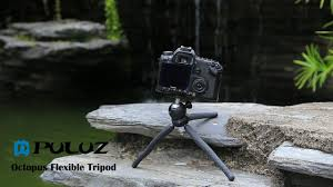 PULUZ <b>Mini Octopus</b> Flexible <b>Tripod Holder</b> with Ball Head for SLR ...