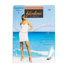 <b>Колготки Filodoro</b> Absolute Summer цвет Playa <b>8 den</b> размер 3 ...