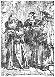 was shylock a victim or a villain   writeworkantonio reproaching shylock  characters from william shakespeare    s play the merchant of venice