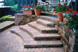 landscaping patio designs pavers awesome ideas