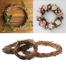 bxlyy artificial garland rattan wreath foam flower photo props headdress birthday party supplies 2019 new year gift 7z