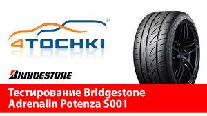 Тестирование <b>Bridgestone</b> Adrenalin <b>Potenza S001</b> - 4 точки ...