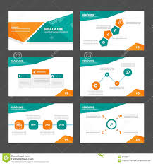 abstract green presentation template infographic elements flat orange and green presentation template infographic elements flat design set for brochure flyer leaflet marketing royalty
