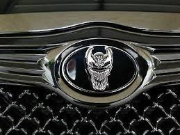 "VENOM CAR EMBLEM 2 1/2"" Chrysler <b>Rear</b> Replacement 63mm ..."