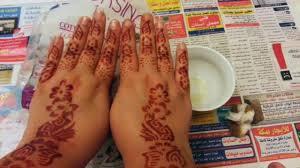 How to use <b>henna stencils</b> for quick designs /كيفية استخدام ...