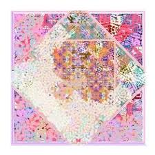 "Women's <b>silk square scarf</b>, gift for her by Irene Paris, ""BELLE DE ..."