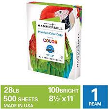 Hammermill Premium Color Copy 28lb Paper, 8.5x11 ... - Amazon.com