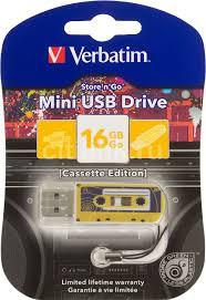 Купить Флешка USB <b>VERBATIM Mini</b> Cassette Edition 16ГБ, USB2 ...