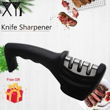 XYj <b>точилка для кухонных ножей</b> из нержавеющей стали 3 в 1 ...
