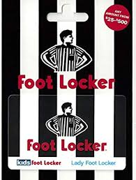Foot Locker Gift Card $25-$500: Gift Cards - Amazon.com