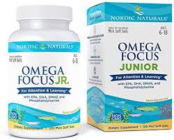 Nordic Naturals Omega Focus Junior - Children's ... - Amazon.com