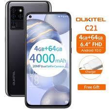"<b>Oukitel C21</b> 6.4"" 4GB + 64GB 6771v 1.5GHz 8-core <b>Android 10.0</b> 4G ..."