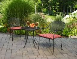 crossman piece outdoor bistro: mainstays wrought iron  piece outdoor bistro set seats