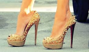 Image result for louboutin in the foot
