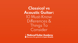 Classical vs <b>Acoustic Guitar</b>: 10 Must-Know Differences & Things To ...