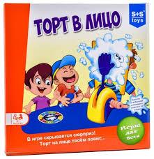 <b>Настольная игра S</b>+<b>S Toys</b> Торт в лицо — купить по выгодной ...