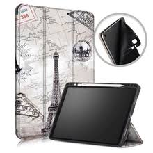 <b>Silicone Cover</b> with Pencil Holder for Apple Ipad Pro 11 <b>Tablet</b> ...