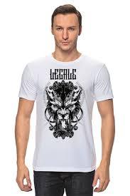 <b>Футболка классическая</b> Lycanthrope #751267 от Legale Prints по ...