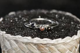 <b>Кольцо</b> Тринити, дизайнер <b>Waves</b> & <b>Gems</b>, (Серебряный цвет)