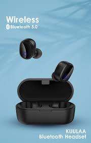 <b>KUULAA</b> Bluetooth <b>Earphone</b> TWS wireless <b>headphones</b> bluetooth ...