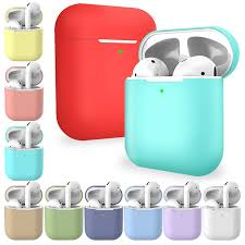 <b>AirPods</b> Case Protective <b>Silicone Skin</b> Holder Bag for Apple Air Pod ...