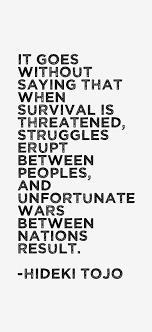 Hideki Tojo Quotes & Sayings via Relatably.com