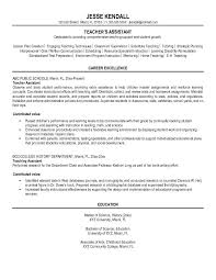 Special Education Teacher Assistant Resume Top Special Education     happytom co