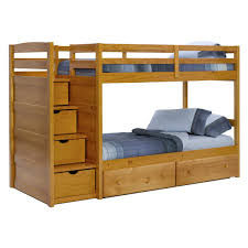 bunk beds with stairs bill house plans bunk bed deluxe 10th