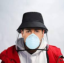 <b>Removable</b> Anti Spitting Protective hat protection hat <b>Face Shield</b> ...