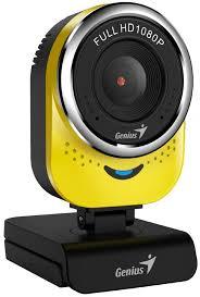Купить <b>web</b>-<b>камеру Genius QCam 6000</b> yellow в Москве: цена веб ...