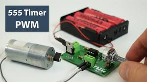 How To Make a <b>PWM DC Motor Speed Controller</b> using the 555 ...